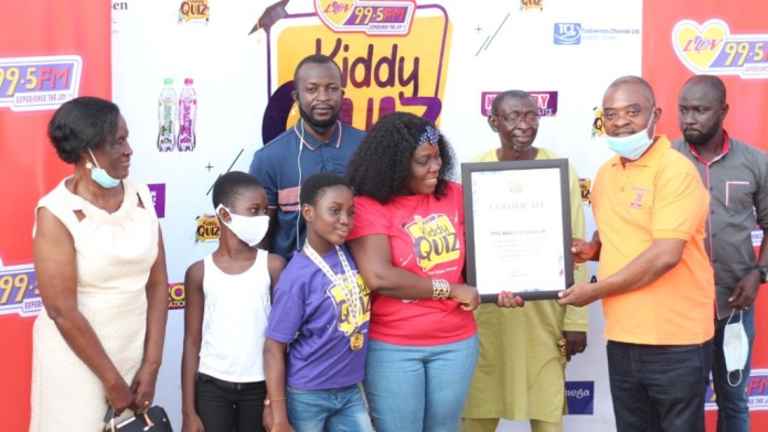 11-year-old Mary-Ann Odoom wins maiden Luv FM Kiddy Quiz 2