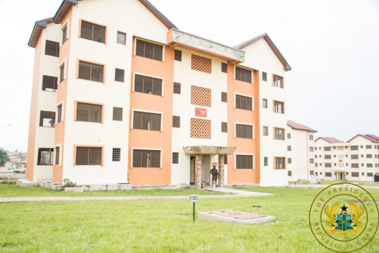 A/R: Akufo-Addo Commissions 312 Asokore-Mampong Affordable Housing Project. 6
