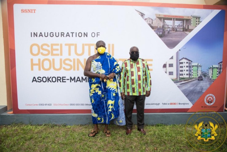A/R: Akufo-Addo Commissions 312 Asokore-Mampong Affordable Housing Project. 7