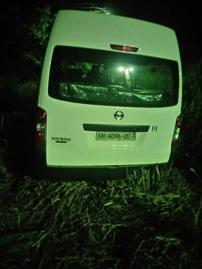 Breaking: Samira Bawumia's convoy involved in accident at Ofoase Kokoben 3
