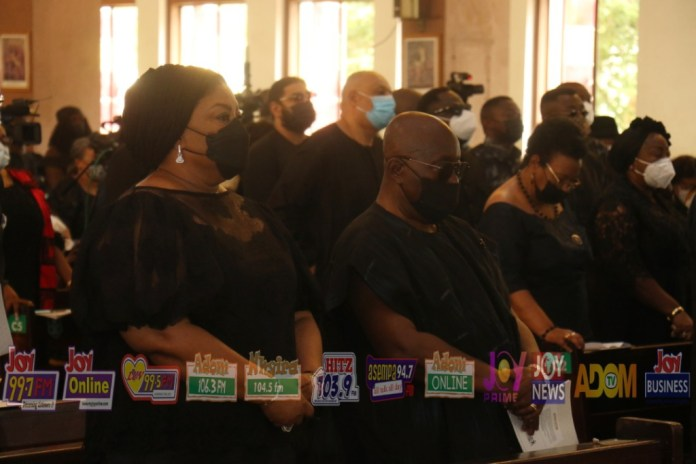 PHOTOS: Requiem mass held in honour of late former President Rawlings