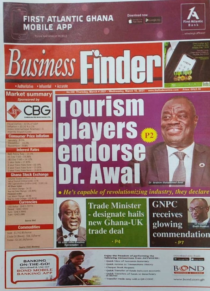 Newspaper headlines of Thursday, March 4, 2021 5