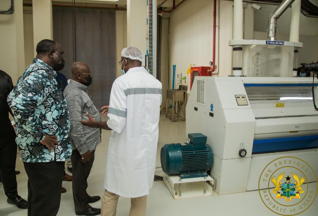 1D1F: Akufo-Addo commissions Premium Foods Factory