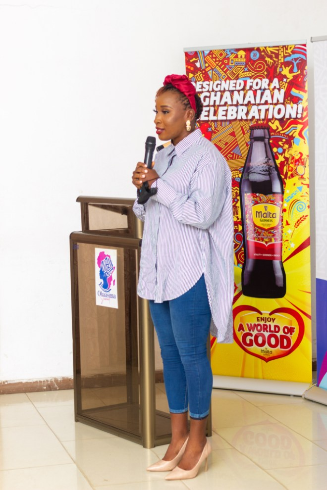 Don't give in to 'women are timid' stereotype - Naa Ashorkor tells UG students