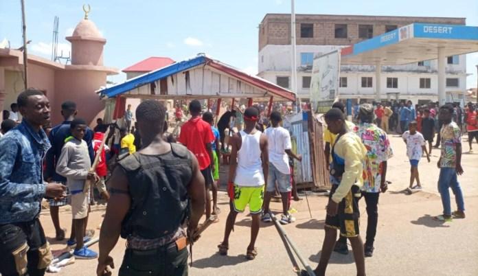 Irate Ejura youth  www.myjoyonline.com