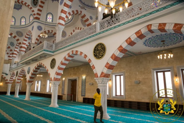 Akufo-Addo commissions National Mosque complex