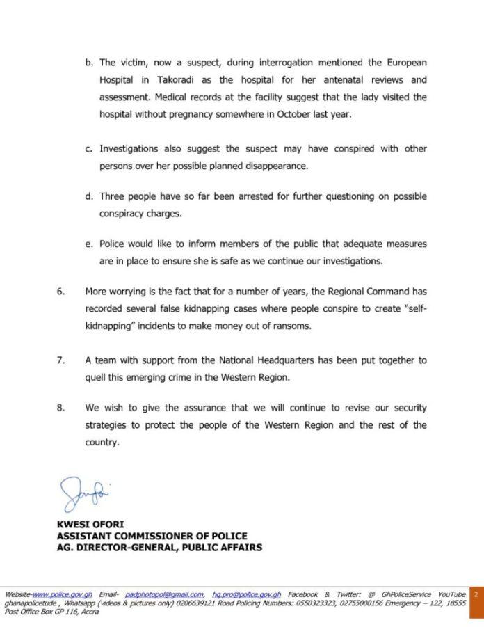 Angry Takoradi residents reject police's fake pregnancy claim