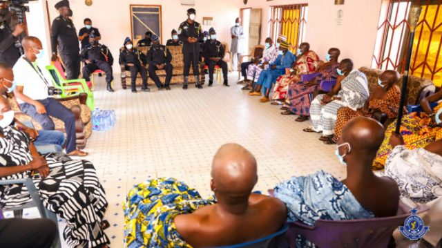 Dampare, POMAB members undertake ground operational tour of new Central East command