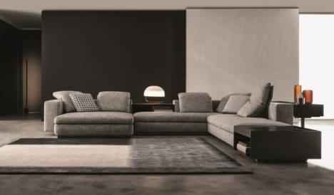 A luxurious sofa via Deavita.com