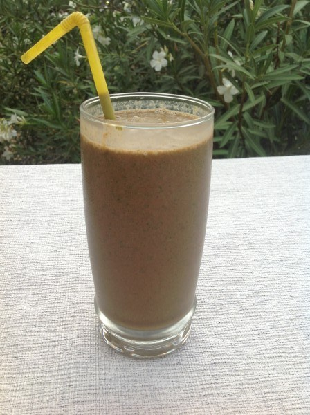 Chocolate Spinach Smoothie