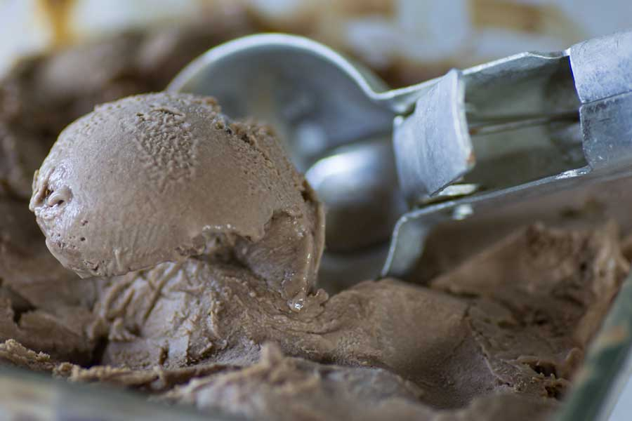 sugar free chocolate Ice cream low carb ketogenic