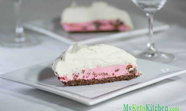 The BEST Low Carb Raspberry Chocolate Cream Pie – Hands Down!