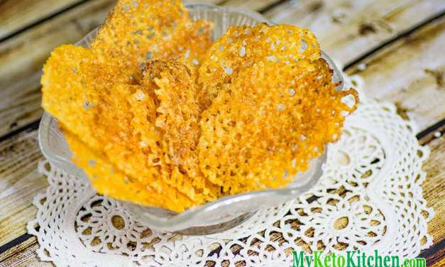 Easy Low Carb Cheese Chips Recipe