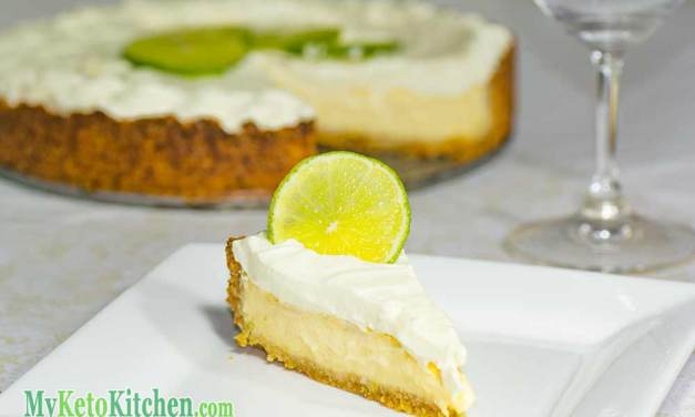 Low Carb Key Lime Pie – Step by Step Recipe