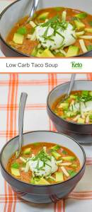 Low Carb Taco Soup