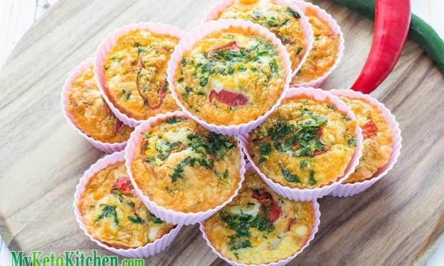 Keto Egg Muffins Recipe – Spanish Chorizo Manchego Cheese