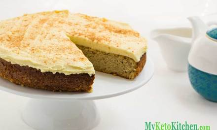 Low Carb Spice Cake with Cream Cheese Frosting