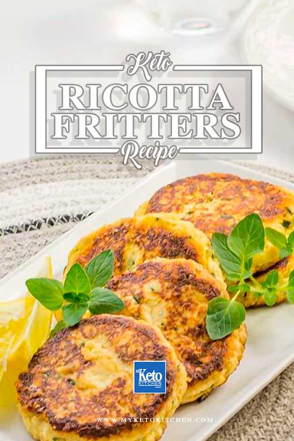 Keto Ricotta Cheese Fritters