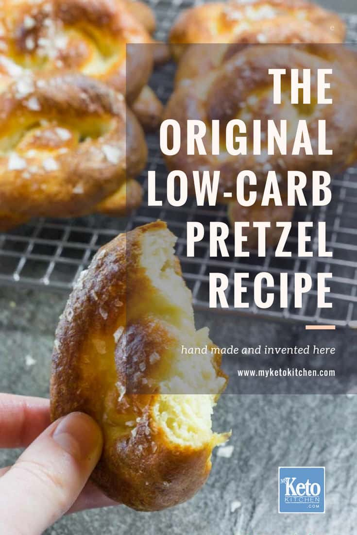 Keto Soft Pretzels Recipe