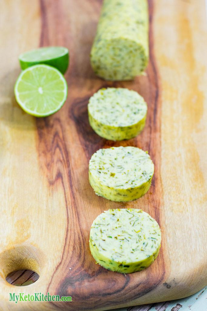 Cilantro & Lime Flavored Compound Butter