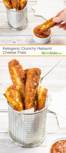 Ketogenic Crunchy Haloumi Fries (Low Carb, Gluten Free, Grain Free)