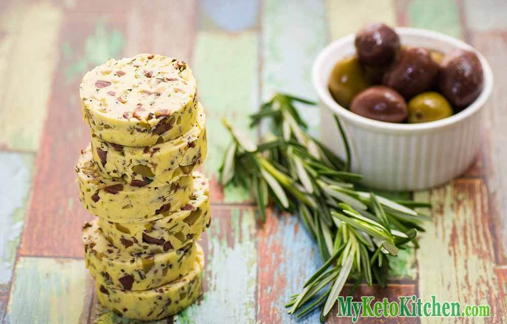 Marinated Olive Flavored Compound Butter