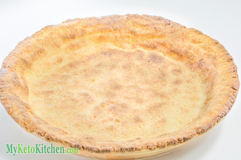 Low Carb Savory Parmesan Pie Crust keto