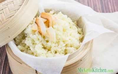 Low Carb Coconut Cauliflower Rice