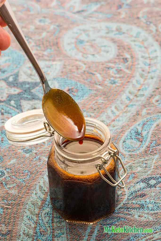 Sugar-Free Sweet Soy Sauce - Keto Kecap Manis