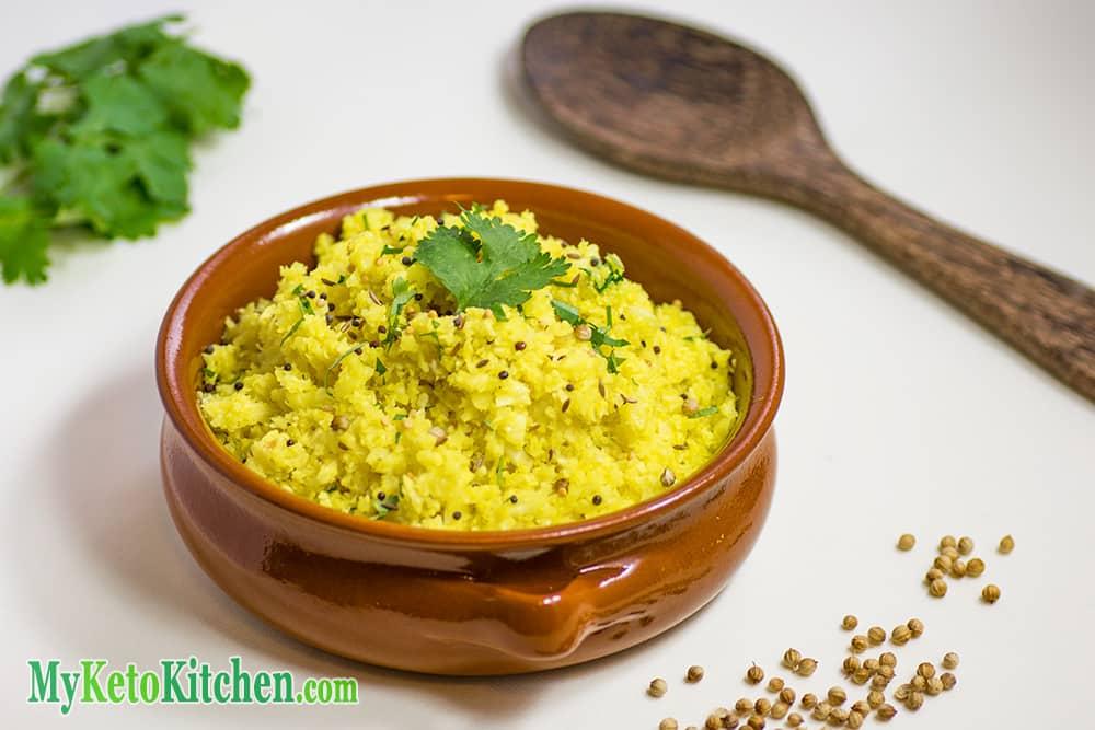 Fragrant Indian Cauliflower Rice