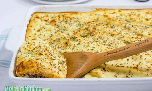 Low Carb Classic Beef Cottage Pie
