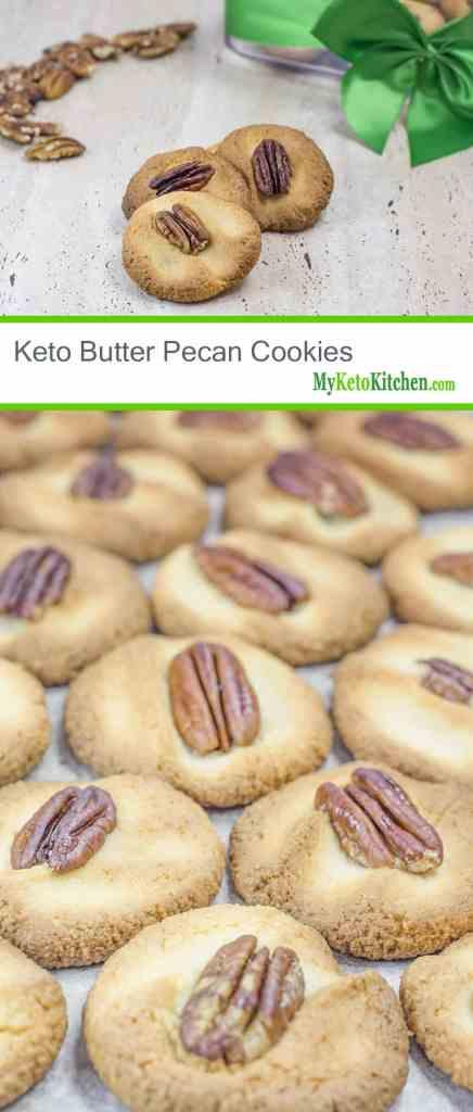 Keto Butter Pecan Cookies
