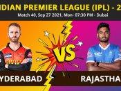 IPL 2021, SRH vs RR: Full List of Award Winners, Man of The Match, Post Match Presentation Highlights