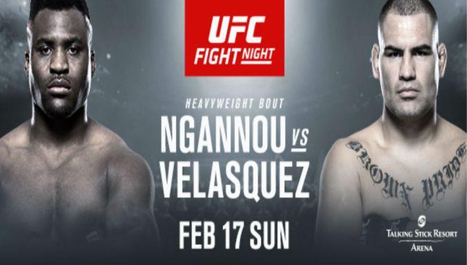 Image result for UFC Fight Night: Ngannou vs. Velasquez free live stream