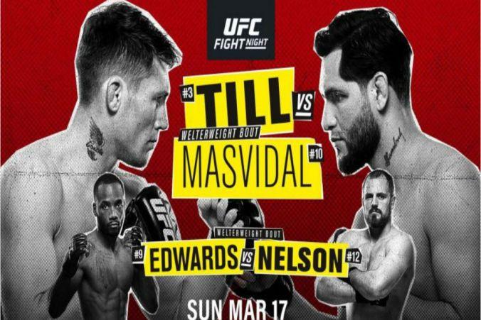 Image result for UFC Fight Night: Till vs. Masvidal