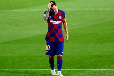 Messi facing lengthy suspension for hitting opponent