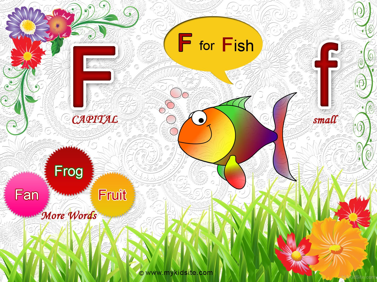 Alphabet Worksheet For Letter F