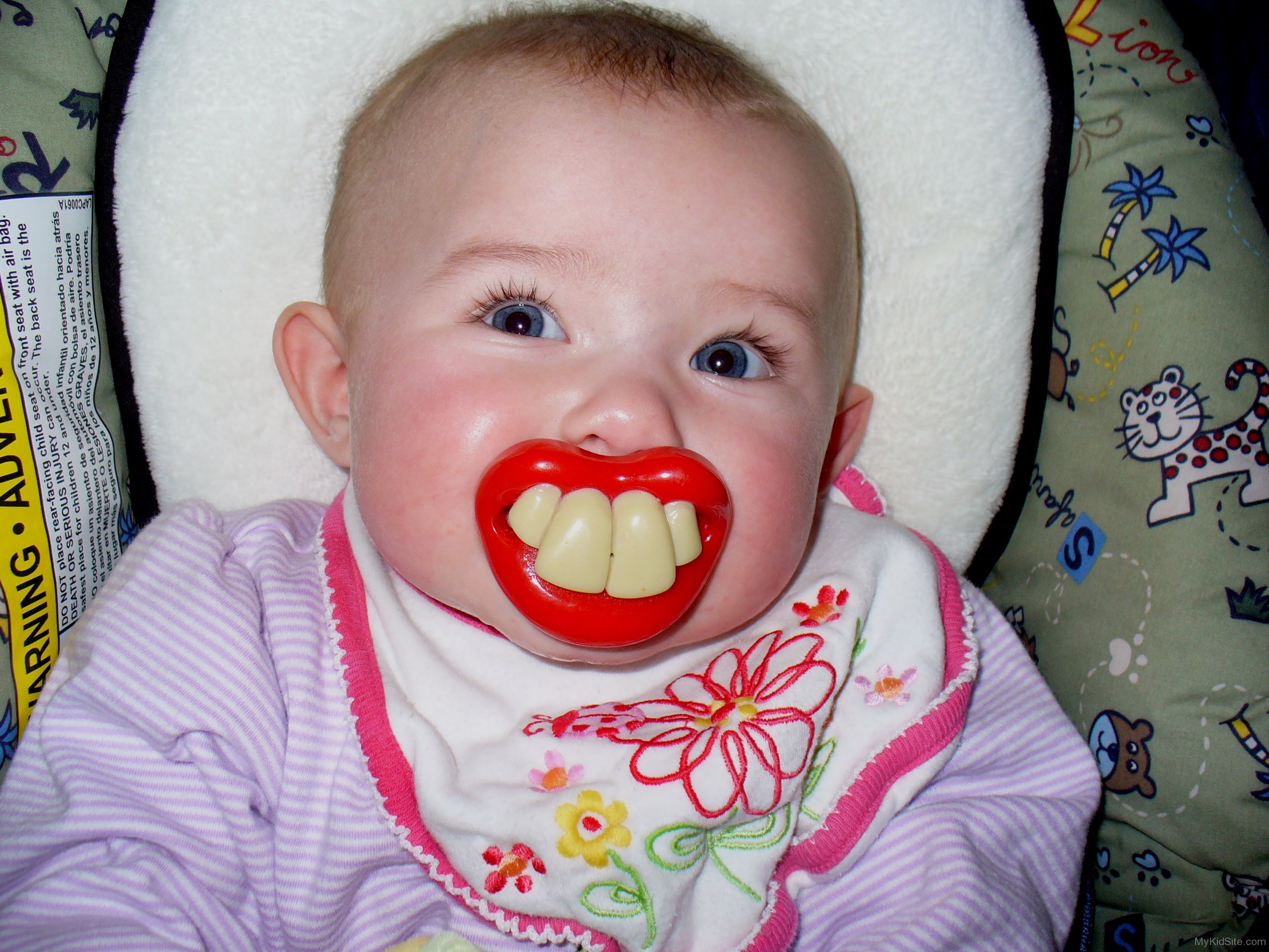 Baby Funny Teeth