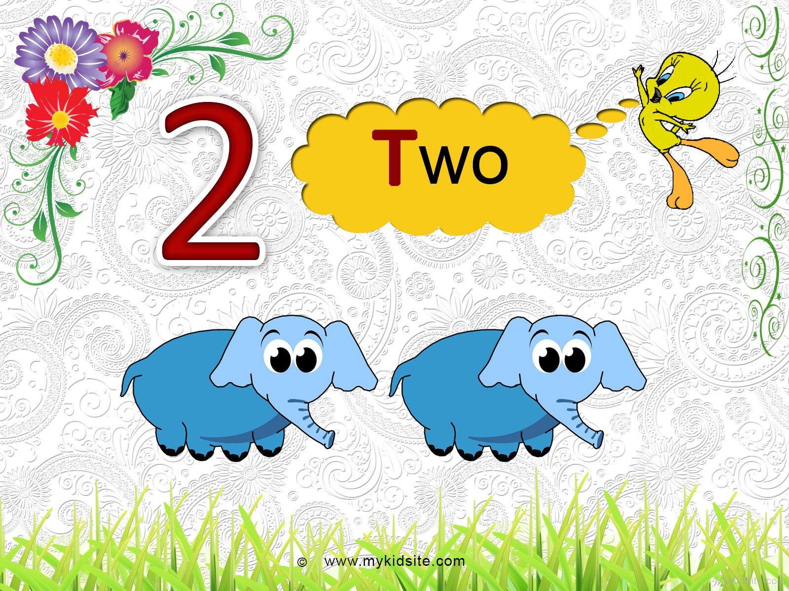 Number Worksheet For 2