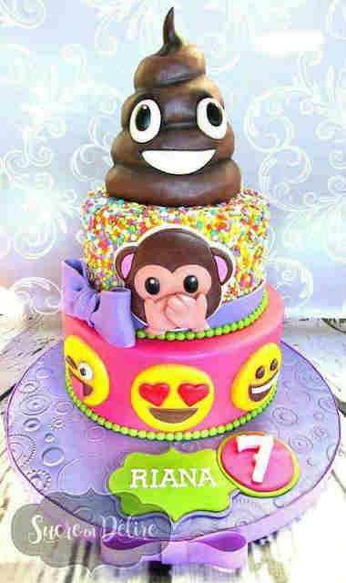 11 Omg Emoji Cake Ideas That Will Get The Thumbs Up