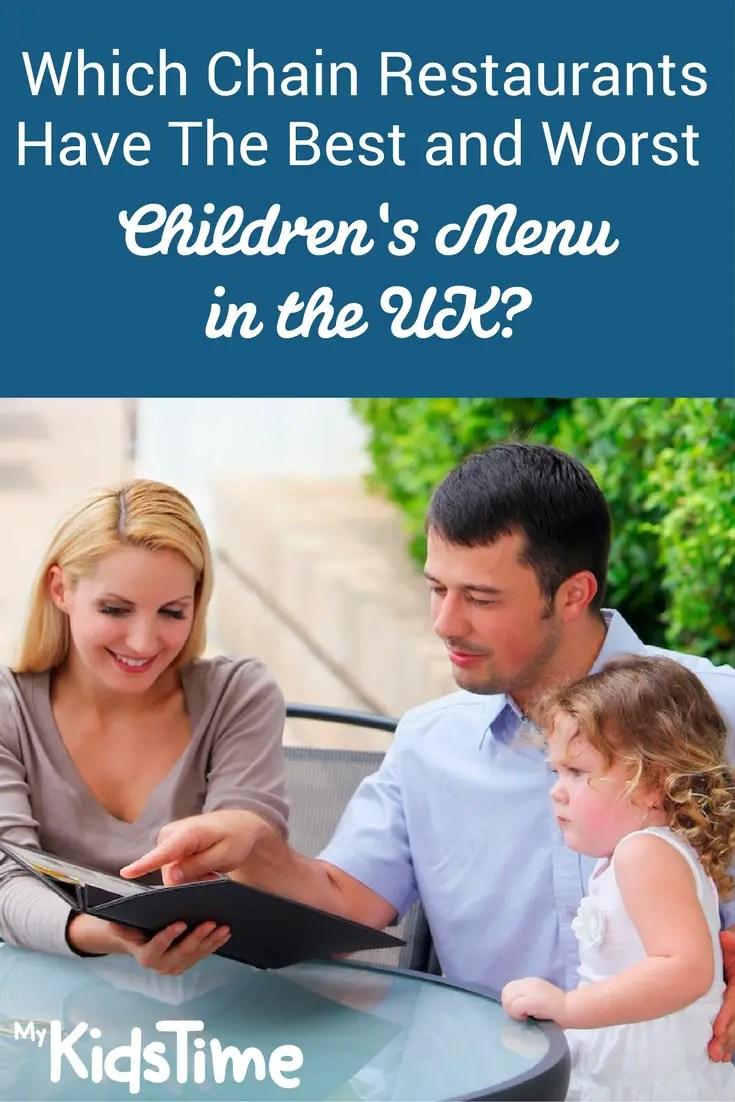 Best Chain Restaurants Kids