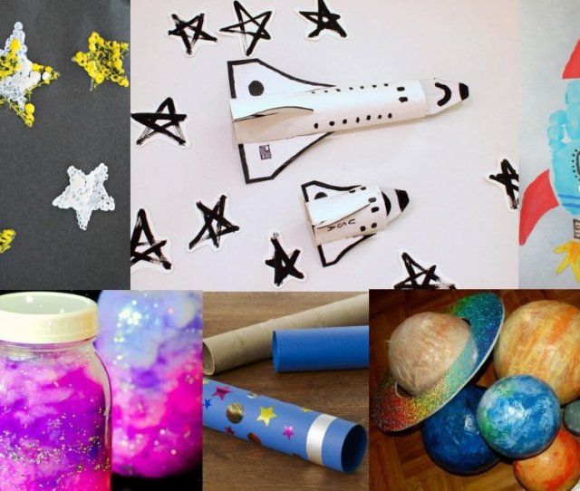 Supersonic Super Fun Space Crafts For Kids To Make