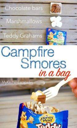 Make smores in a bag