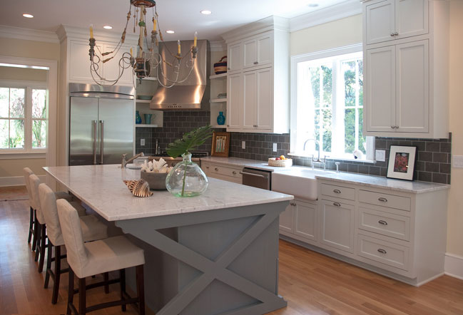 Beautiful Kitchen Design Creamy White Cabinets