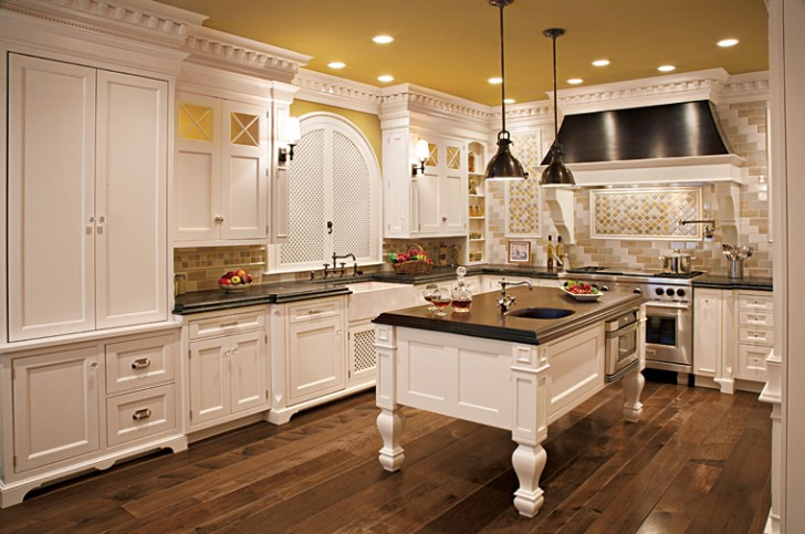 Luxury Kitchen Cabinets Those Big Budget