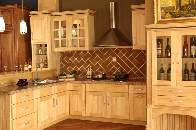 Have the Natural Maple Kitchen Cabinets for Your Home - My ... on Natural Maple Cabinets  id=67056