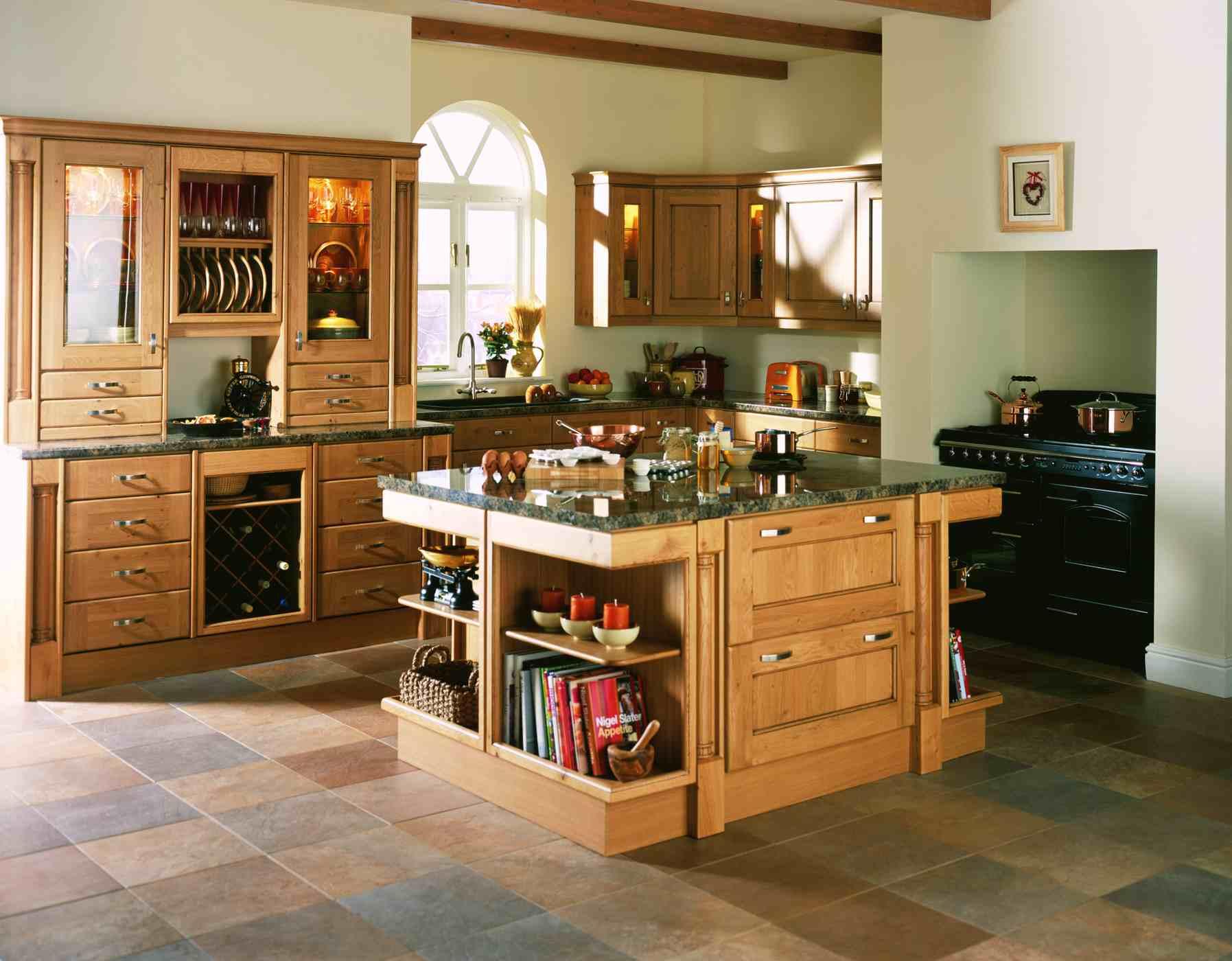 Playful Farmhouse Kitchen Design Ideas For Retro Looks On