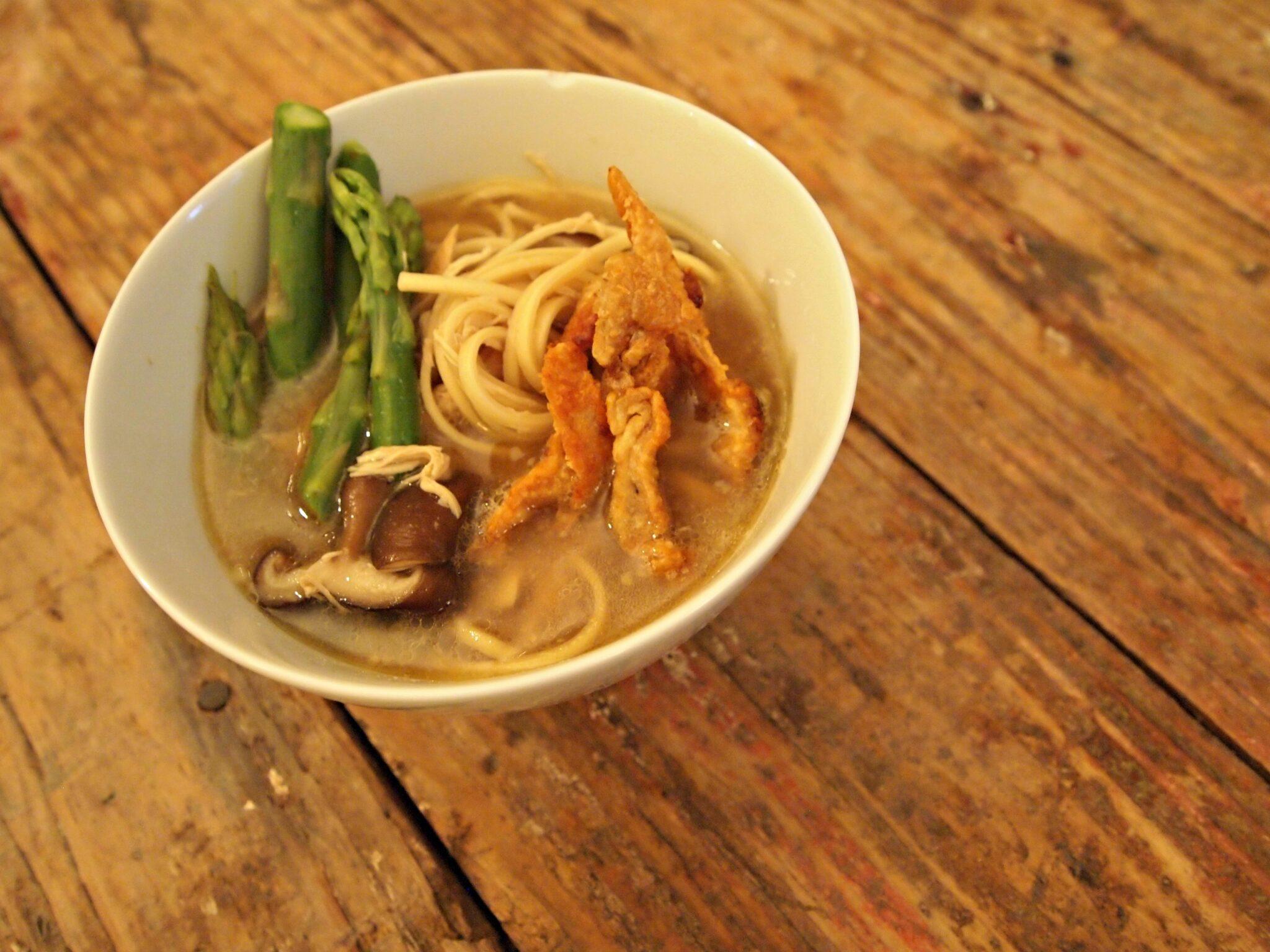 My Kitchen Love Blog Chicken Miso Noodle Soup