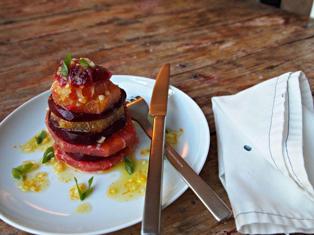 My Kitchen Love Blog - Citrus-Beet Stack