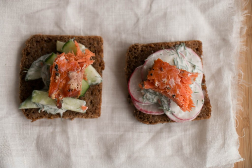 Smoked Salmon Salad - My Kitchen Love